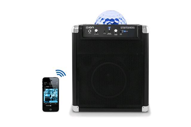 Block Rocker Music System W/ Party Lights