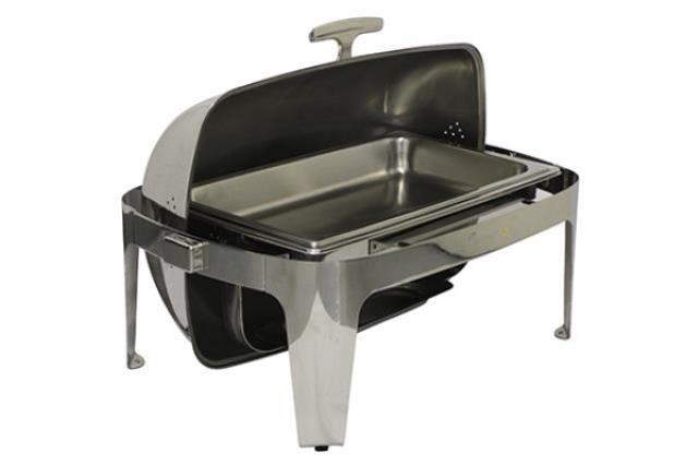 8 Qt Roll-top Modern Chafing Dish