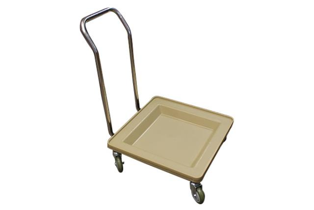 Glass Rack Cart W/ Handle