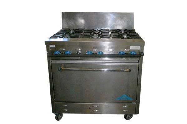 6 Burner Oven Range Propane
