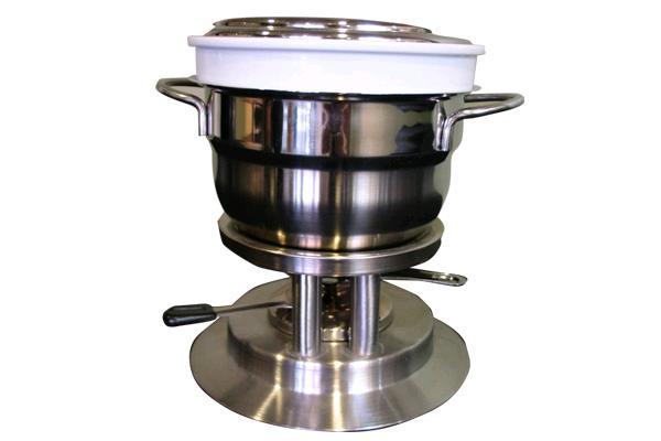 Stainless Steel Fondue Pot Large