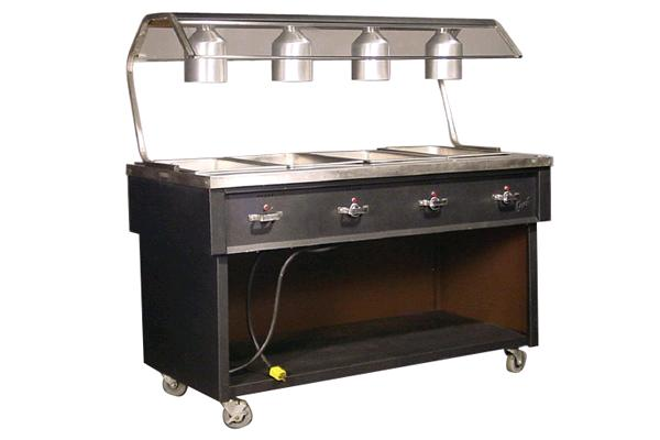 4 Well Steam Table