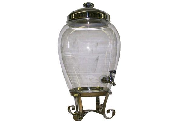 Charleston Glass Drink Dispenser