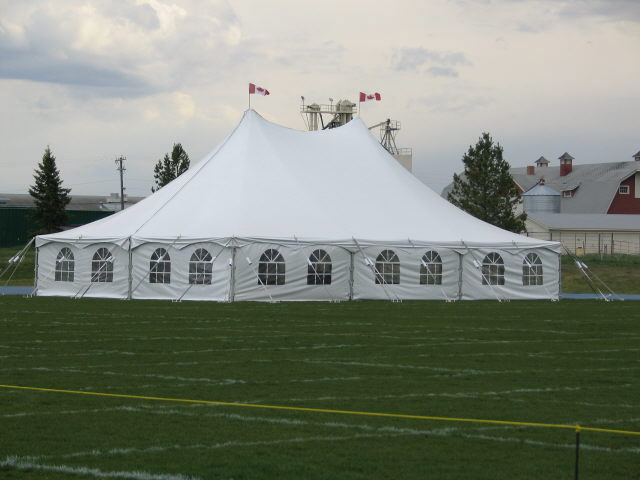 Rent 40 X 60 White Pole Tent | Tents Canopies Rentals in Edmonton Alberta & Rent 40 X 60 White Pole Tent | Tents Canopies Rentals in Edmonton ...