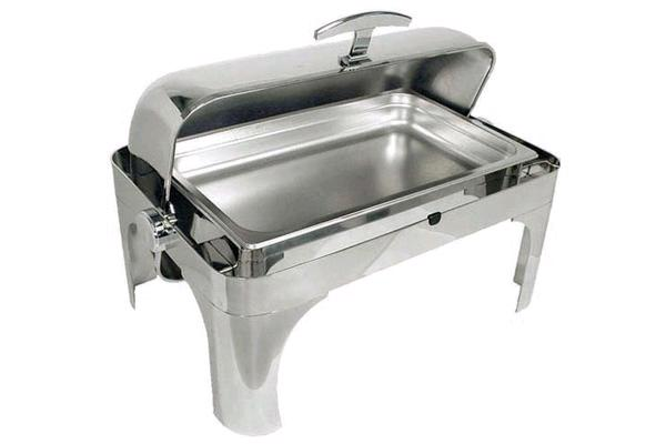 Roll-top Long Island Chafing Dish