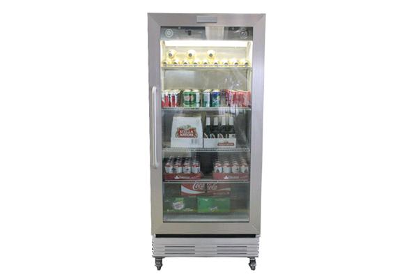 19.5 Cubic Feet Glass Door Commercial Fridge