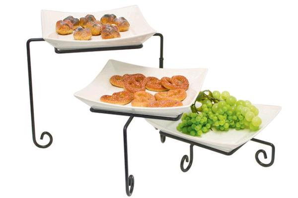 3-tier Buffet Tray (square)
