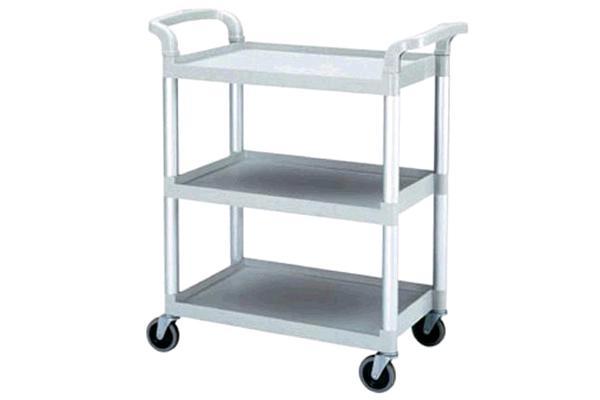 3 - Shelf Bus Cart