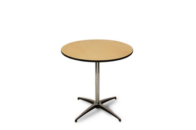 b67b767317a8 Rent 30 Round Cocktail Table Seating Height