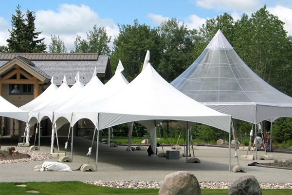 Costco Wholesale – Here you can shop all departments including different types of wedding & party tents as well as party supplies.