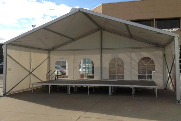 9M WIDE CLEARSPAN TENTS