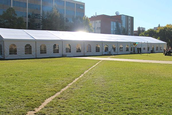 15M WIDE CLEARSPAN TENTS