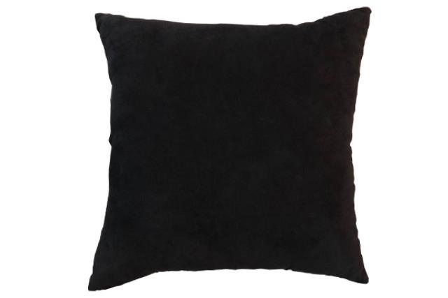 BLACK FELT PILLOW
