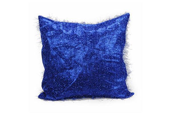 BLUE RETRO EYELASH PILLOW