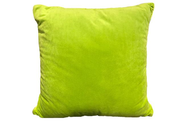 CHARTREUSE CHENILLE PILLOW