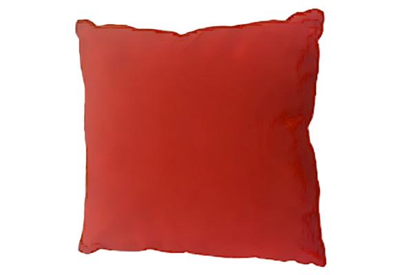 RED FELT PILLOW