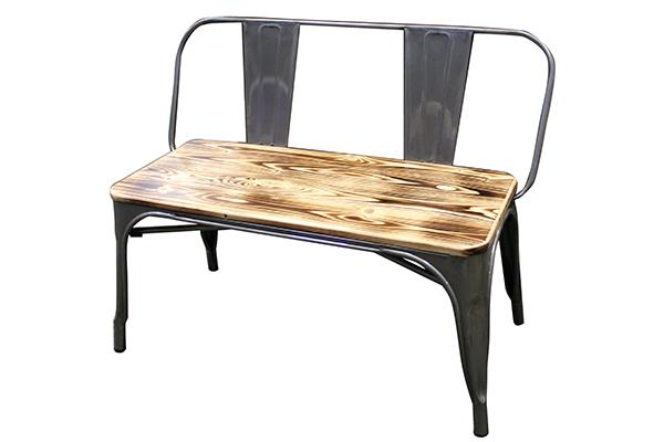 ELIO BENCH WITH BACK