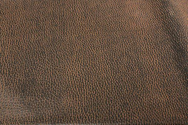 CHEYENNE CHOCOLATE LEATHER LINEN