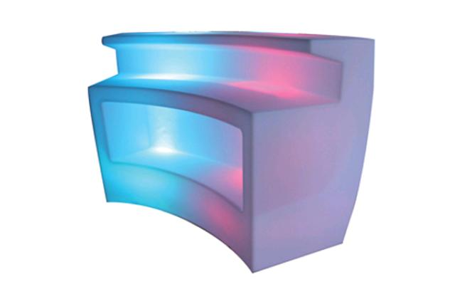 CURVED LED PLASTIC BAR STYLE 2