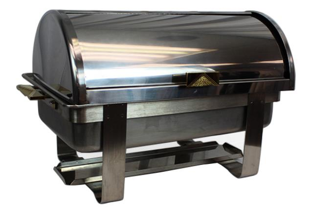 CHAFING DISH, ROLL TOP