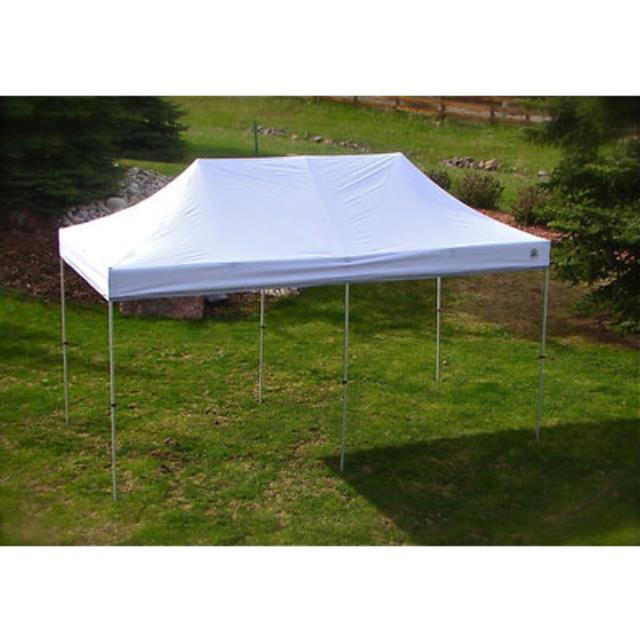 10' X 20' WHITE PREMIUM POP UP