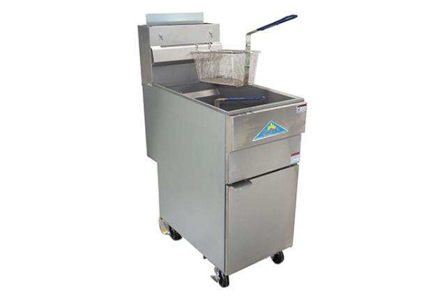 DEEP FRYER WITH CASTERS