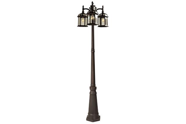 3-HEAD CLASSIC LAMP POST