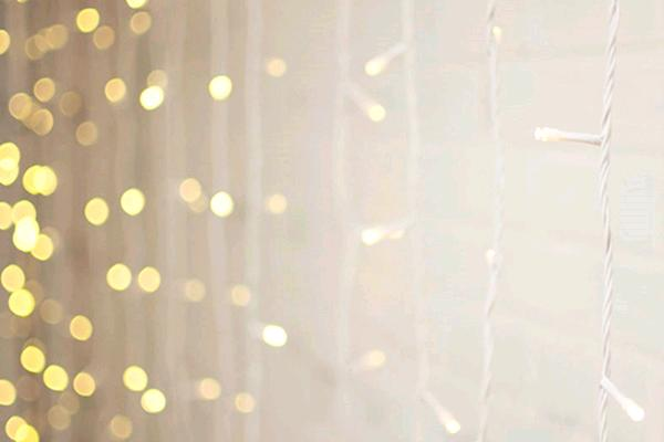 16.5' CURTAIN LIGHTS (LIGHTS ONLY)