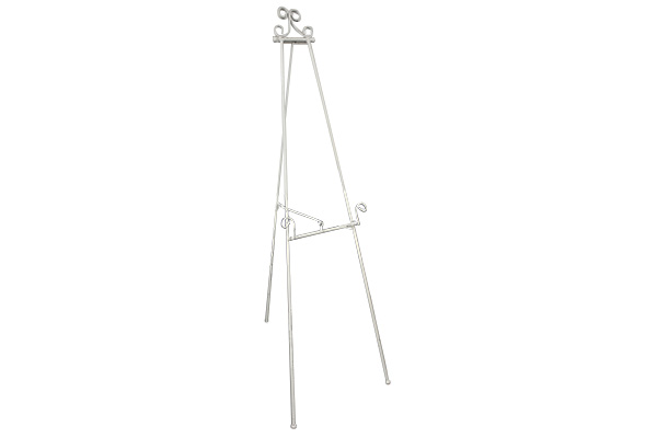 WHITE FLOOR EASEL