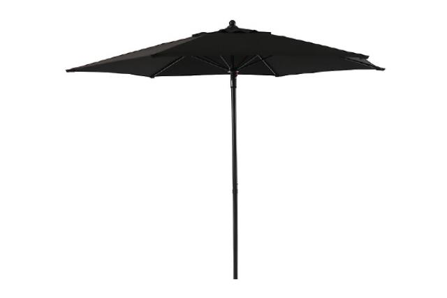 7.5' BLACK UMBRELLA