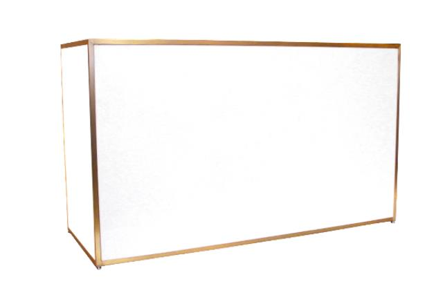 INDUSTRIAL GOLD/PLEXI BAR