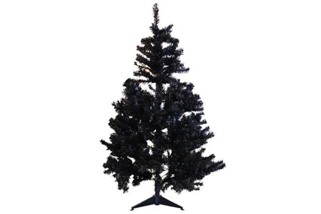 5' BLACK CHRISTMAS TREE