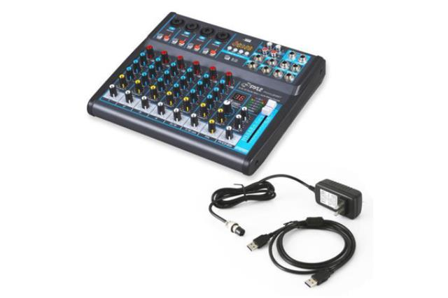8 CHANNEL BLUETOOTH MIXER