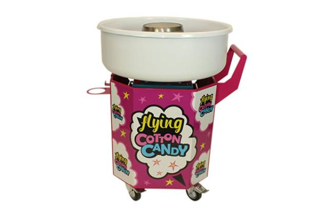 FLYING CANDY FLOSS MACHINE WITH CART