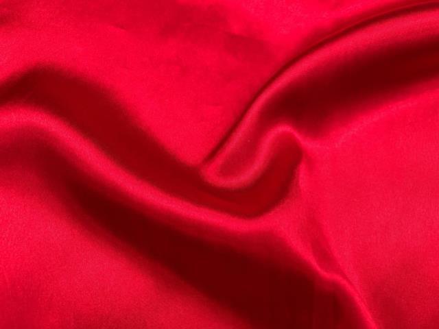 RED SATIN NAPKIN