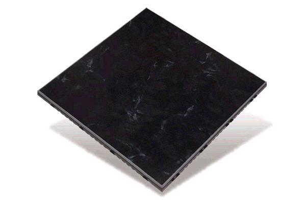 LUXURY BLACK TILE, PER SQUARE FOOT