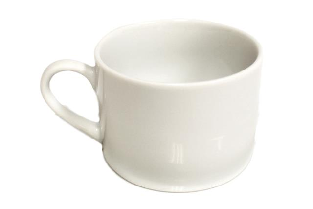 CLASSIC WHITE COFFEE / TEA CUP