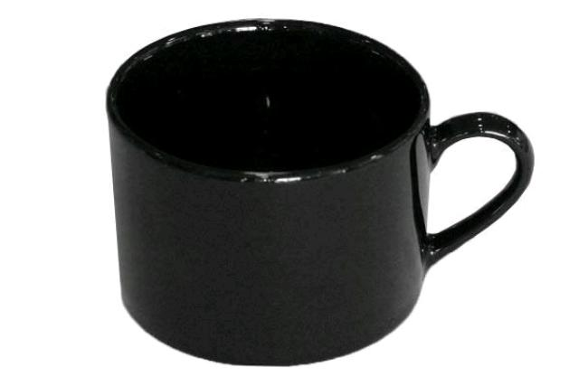 CLASSIC BLACK COFFEE / TEA CUP