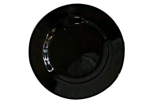 CLASSIC BLACK SAUCER