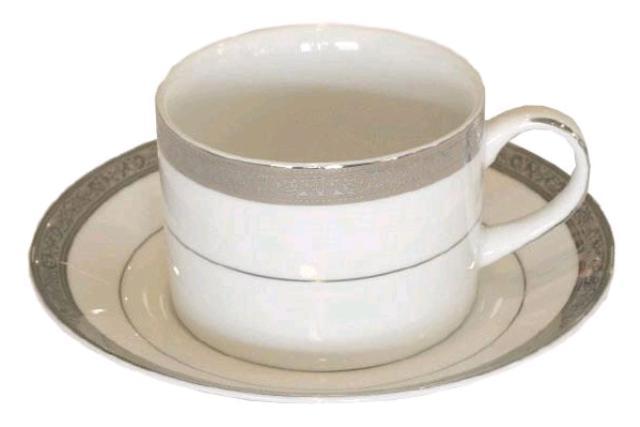 PARADISE PLATINUM COFFEE / TEA CUP
