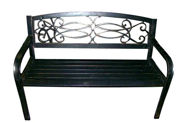 ANTIQUE STEEL BENCH