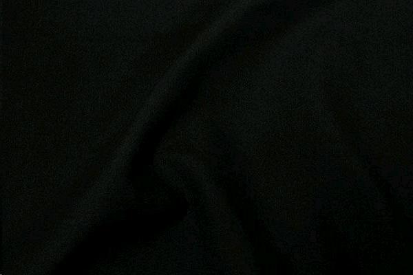 BLACK POLYKNIT TABLESKIRT