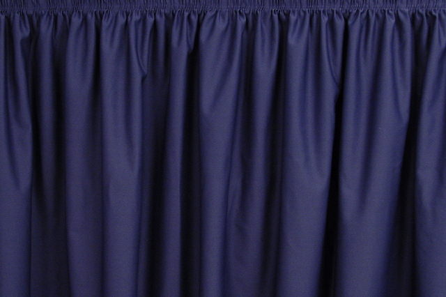 NAVY PREMIER TABLESKIRT
