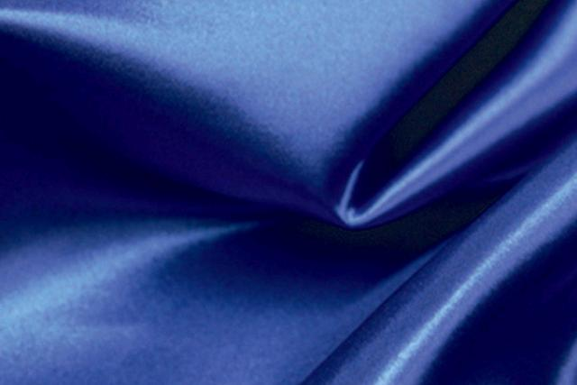 SAPPHIRE BLUE SATIN NAPKIN
