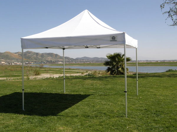 10' X 10' WHITE DELUXE POP UP
