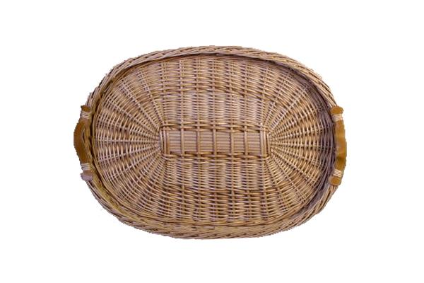 MEDIUM OVAL WICKER TRAY