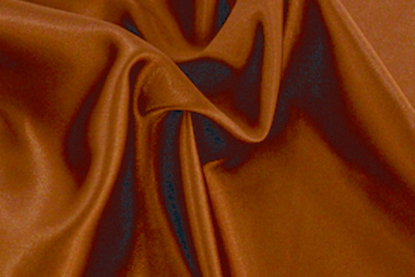 COPPER SATIN LINEN