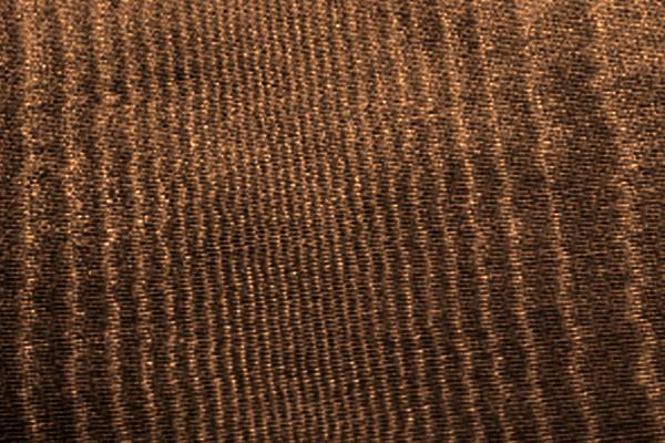 CHOCOLATE MOIRE LINEN
