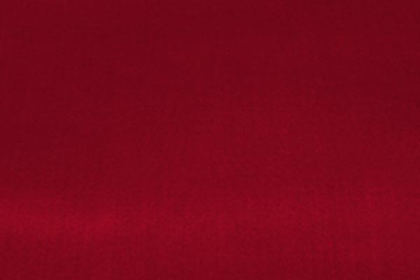 CHERRY RED TAFFETA LINEN