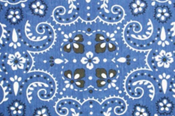 BANDANA BLUE LINEN